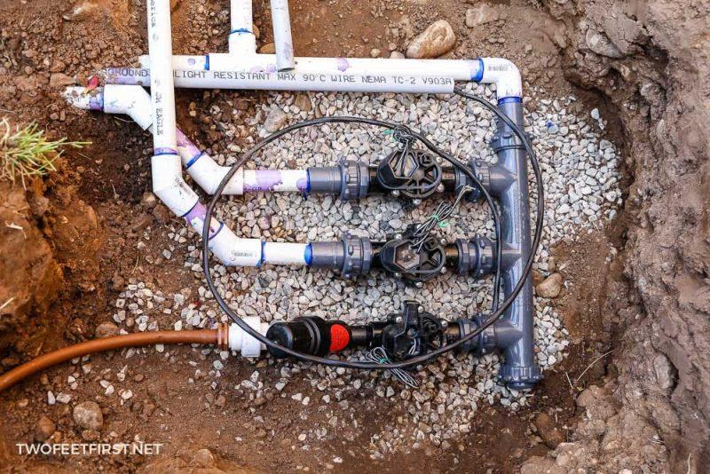 install sprinkler valves