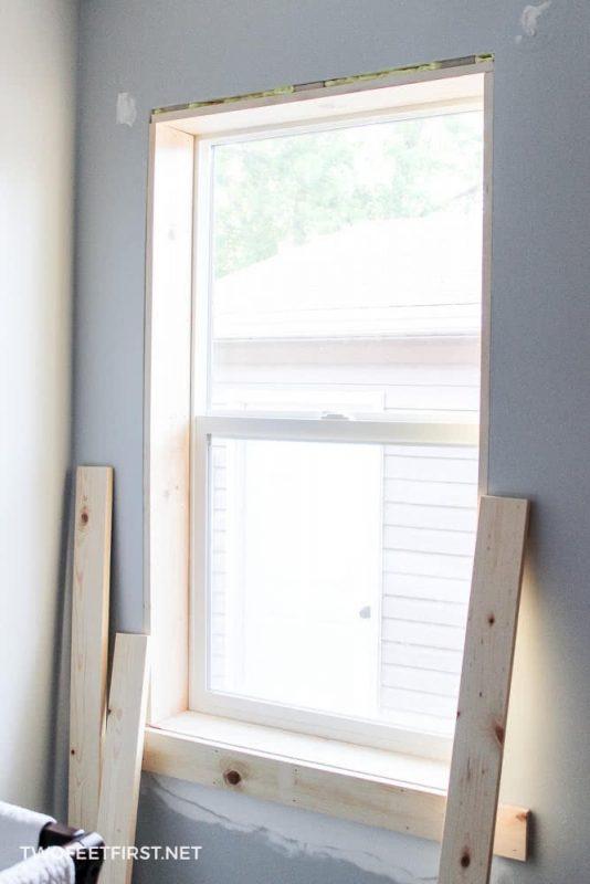 wood for interior window trim