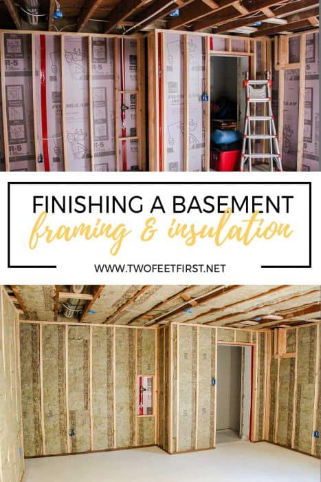 finishing a basement framing and insulation