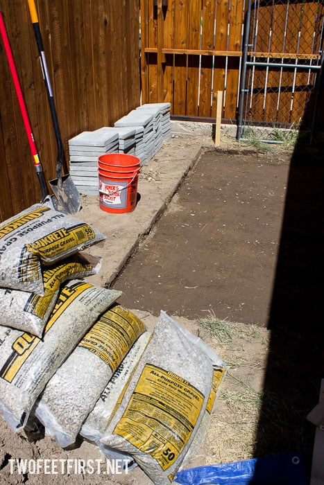 Install a paver foundation for a shed | How to build a shed foundation