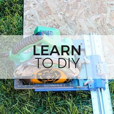 learn to DIY with TwoFeetFirst