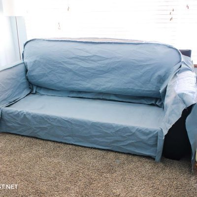 make a couch cover
