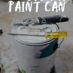 open a paint can