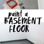 paint a basement floor tutorial
