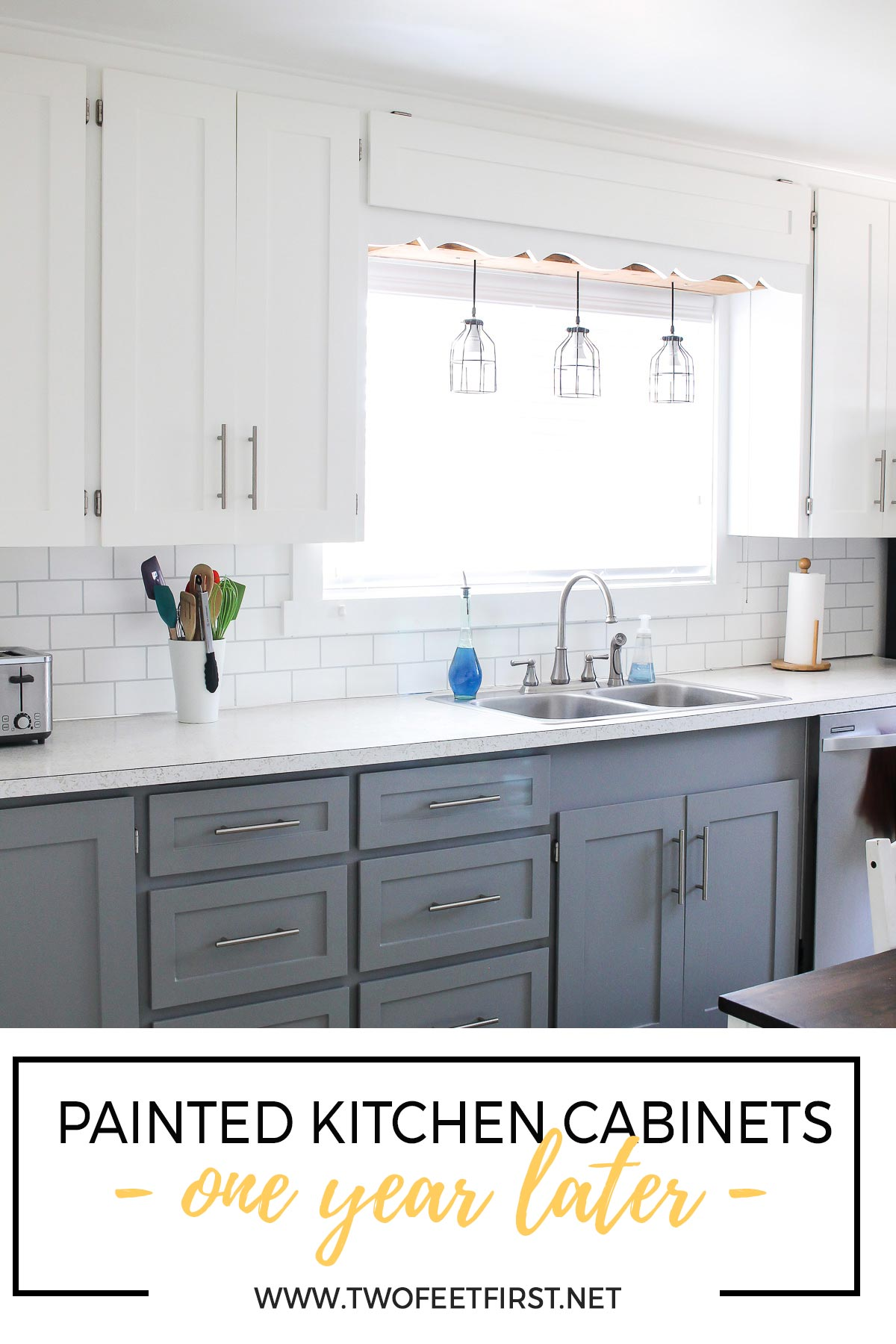 How\'s That Project Holding Up - Updated Kitchen Cabinets