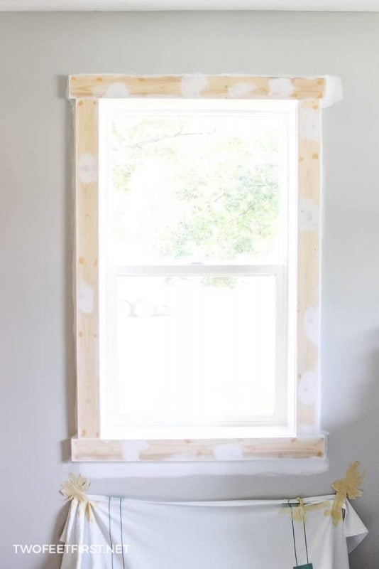 paint window casing