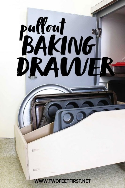 build a pullout baking drawer