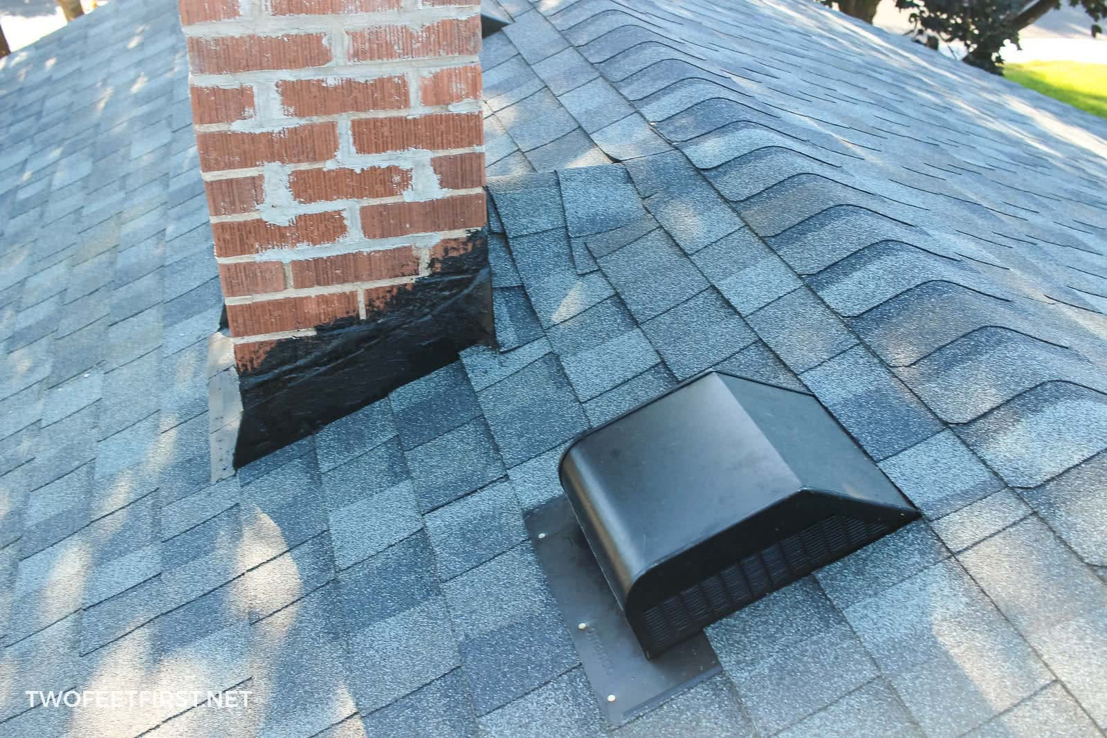 install new vents on roof
