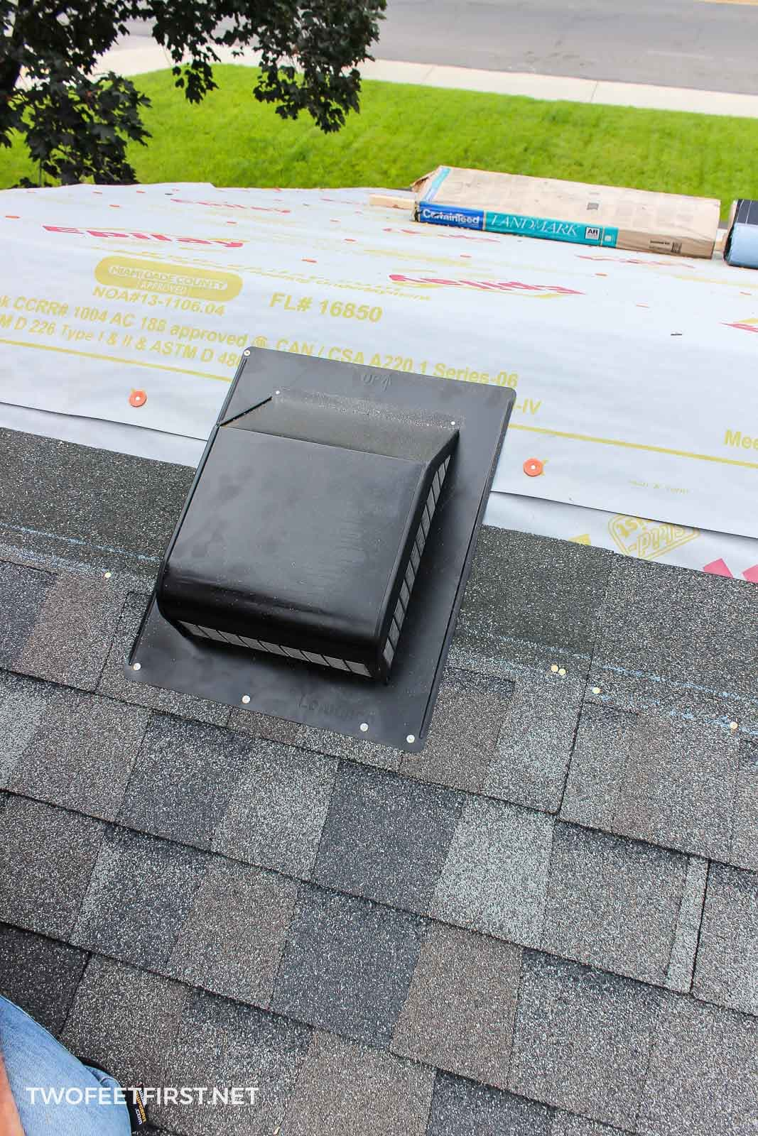 add vent to roof