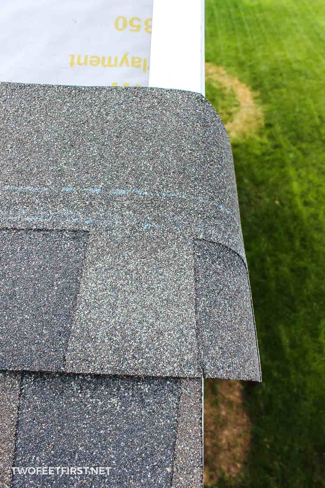 adding new shingles to roof