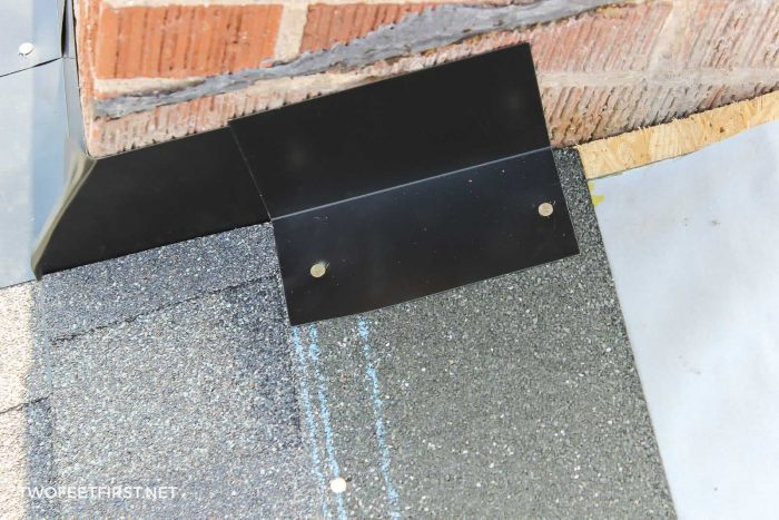 adding chimney flashing