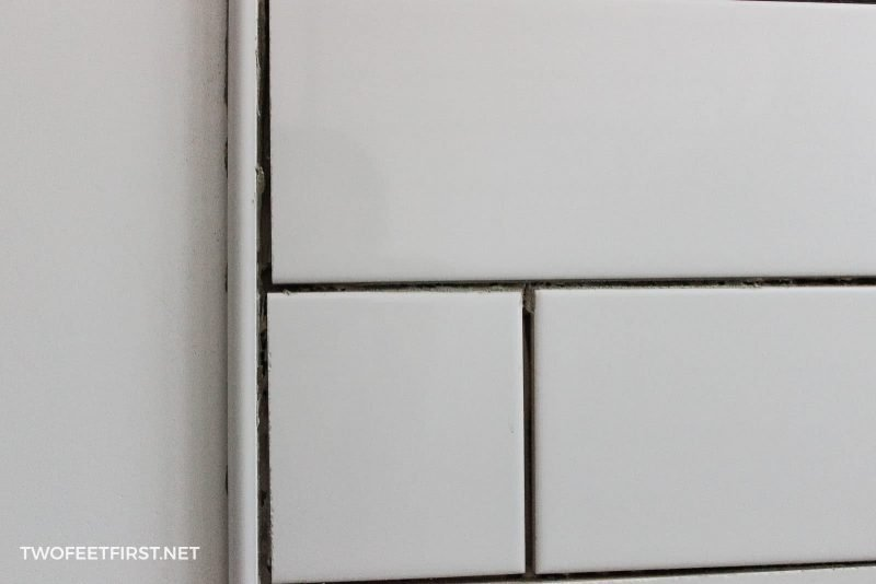 clean grout lines for tile