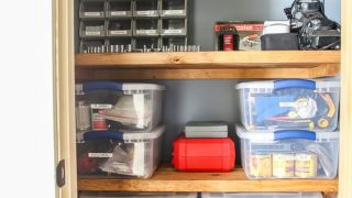 Tool Organization Solution When You Don't Have A Garage