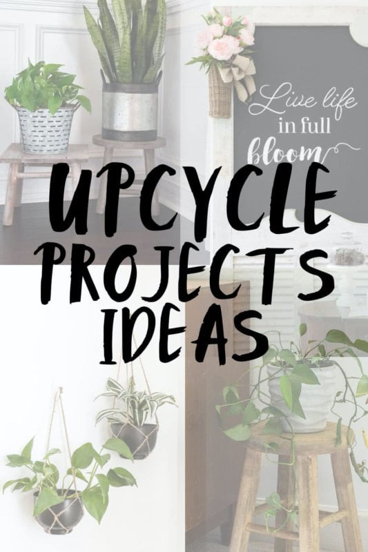 lots of upcycle projects