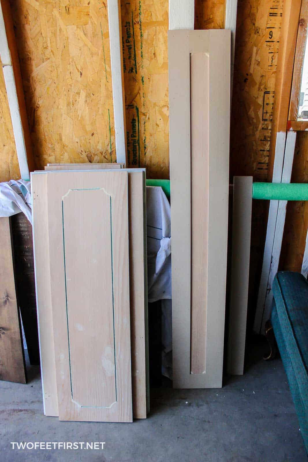 update cabinet doors with trim