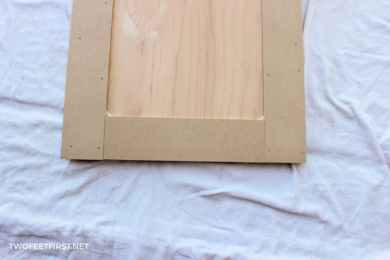 How to update kitchen cabinets without replacing them | DIY Shaker Cabinet Doors