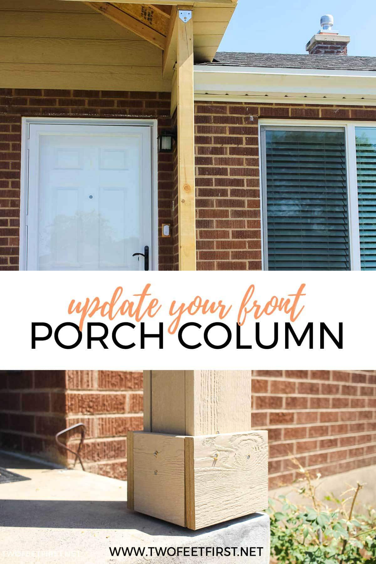 How To Wrap Porch Columns A