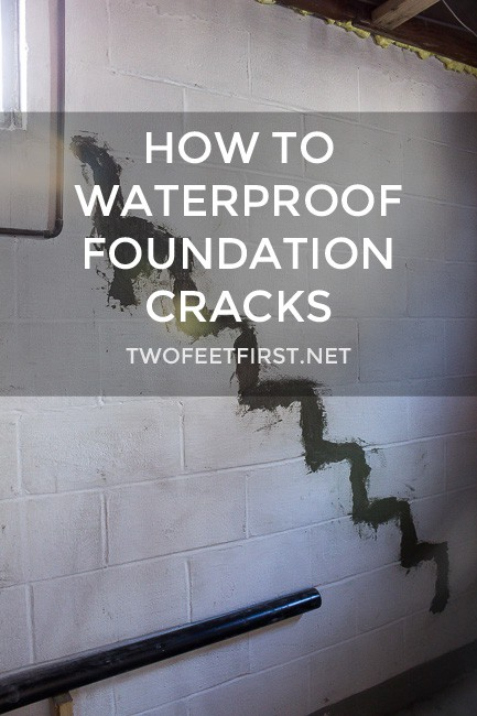 waterproof foundation cracks